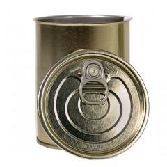 Металлическая банка №9 с крышкой Easy Open и кольцом