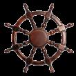 Деревянные изделия - Декоративные деревянные штурвалы