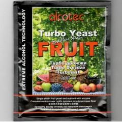 Турбо-дрожжи Alcotec Fruit Turbo, 60 г